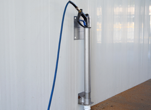 Self Serve Car Wash Bay Wand Holder wall mount distributed by Tri State Car Wash Solutions